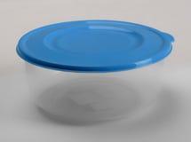 Recipiente plástico redondo imagens de stock royalty free