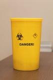 Recipiente waste médico Imagem de Stock
