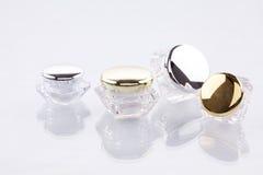 Recipientes cosméticos fotografia de stock royalty free