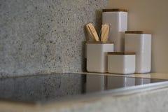 Recipientes da cozinha Foto de Stock