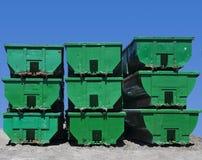 Recipientes de armazenamento Foto de Stock