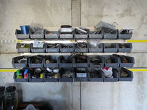Recipientes de armazenamento Fotografia de Stock