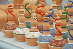 Recipientes de armazenamento tradicionais a da água K A Labu Sayong no malaio feito da argila Fotografia de Stock Royalty Free