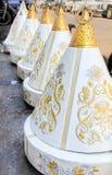 Recipientes do presente de Tyafer do marroquino para a cerimônia de casamento Imagens de Stock