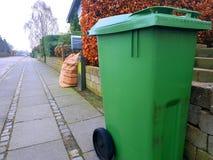 Recipientes para classificar o lixo Imagem de Stock Royalty Free