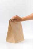 Recipientes para o fast food e as bebidas Materiais Recyclable Foto de Stock Royalty Free