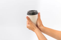 Recipientes para o fast food e as bebidas Materiais Recyclable Imagem de Stock