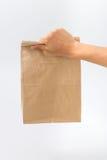 Recipientes para o fast food e as bebidas Materiais Recyclable Fotos de Stock