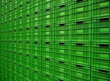 Recipientes plásticos 1 Imagem de Stock