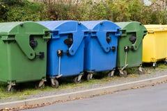 Recipientes Waste Imagem de Stock Royalty Free