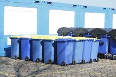 Recipienti di riciclaggio, Brema, Germania Fotografie Stock