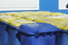 Recipienti di riciclaggio, Brema, Germania Fotografia Stock Libera da Diritti