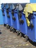 Recipienti di riciclaggio, Brema, Germania Immagine Stock