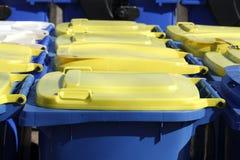 Recipienti di riciclaggio, Brema, Germania Immagini Stock Libere da Diritti