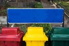 Recipienti differenti di colori Fotografia Stock Libera da Diritti