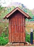 Recipienti fatti di legno Fotografie Stock Libere da Diritti