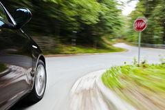 Reckless driving Stock Photography