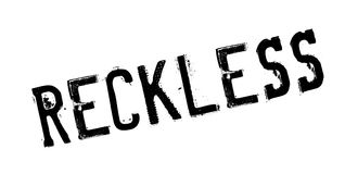 Reckless rubber stamp Royalty Free Stock Photography