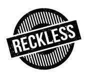Reckless rubber stamp Royalty Free Stock Image