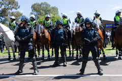 Reclaim Australia Rally - Melton Stock Photos
