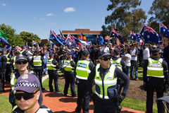 Reclaim Australia Rally - Melton Stock Images