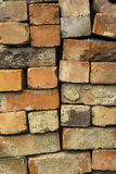 Reclaimed bricks Stock Image