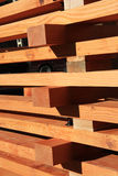 Reclaimed fir timber trusses Royalty Free Stock Photography