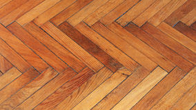 Reclaimed Parquet Flooring Royalty Free Stock Image