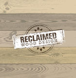 Reclaimed Wood Design Element. Creative Set Of Rustic Labels And Stamps For Custom Interior Workshop Company. Royalty Free Stock Photo