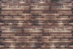 Reclaimed Wood Planks Wall Royalty Free Stock Photography