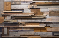 Reclaimed wooden wall Royalty Free Stock Photography