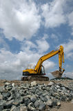 Reclaiming Land. Reclamation shoreline edge in China Stock Photos