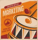 Reclame en marketing vector illustratie