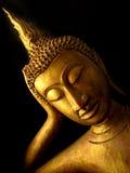 Reclinação da Buda fotos de stock