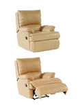 Recliner chair Royalty Free Stock Photo