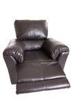 Recliner with foot rest Royalty Free Stock Photo