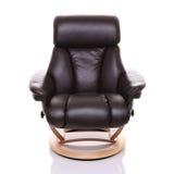 Recliner luksusowy krzesło, przód dalej. Zdjęcie Stock