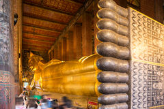 Recling Buddha Stock Image