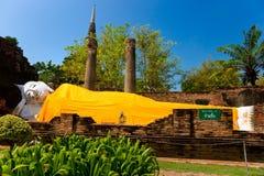 Reclinig Buddha,  Ayutthaya, Thailand, Stock Photography