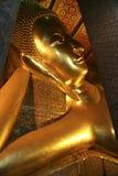 Reclining Buddha. Statue of Reclining Buddha at Wat Pho temple, Bangkok, Thailand Stock Photography