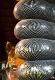 Reclining Buddha. The scene of Thailand about Reclining Buddha Stock Images