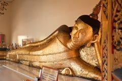 Reclining buddha Stock Photography