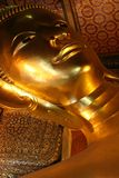 Reclining buddha Royalty Free Stock Image