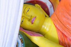 Reclining Buddha in Abhayagiri Dagaba, Sri Lanka Royalty Free Stock Image