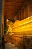 Reclining Buddha At Wat Pho, Bangkok, Thailand Royalty Free Stock Photo