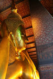 The reclining Buddha, Bangkok Stock Image