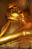 Reclining Buddha, Bangkok, Thailand Royalty Free Stock Images
