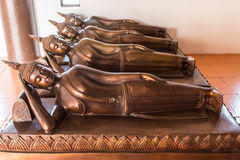 Reclining Buddha. In Chiang mai , Thailand Royalty Free Stock Images
