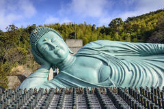 Reclining Buddha of Fukuoka Stock Image