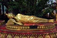 Reclining Buddha Stock Photo